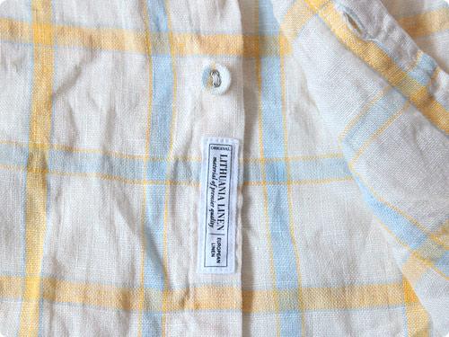ordinary fits S/S LITHUANIA LINEN SHIRT