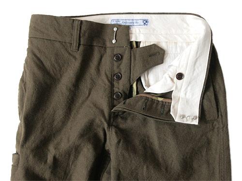 ordinary fits POSTMAN PANTS WOOL