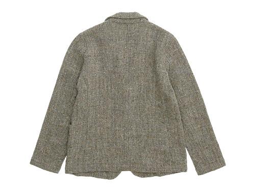 RINEN 1/6.5ウールツイードヘリンボーン テーラードジャケット