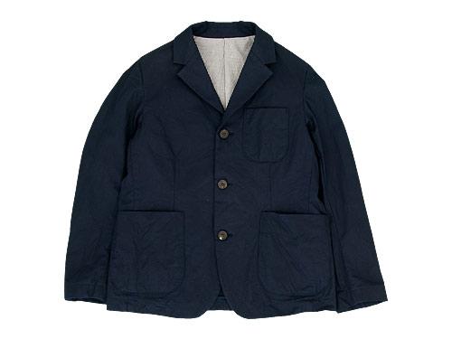 RINEN 60/2オーガニック綾織 テーラードジャケット