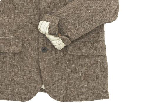 RINEN 1/6ツイードヘリンボーン テーラードジャケット