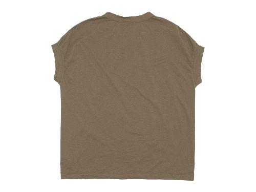 RINEN 60/2天竺 フレンチスリーブTシャツ