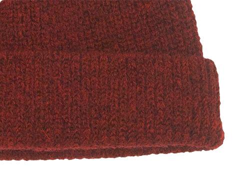 RINEN 2/21ウールアゼ編み ニット帽