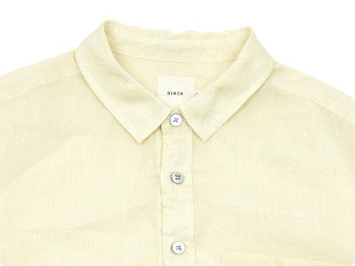 【別注】 RINEN 100/1ラミーシャンブレー レギュラーカラーシャツ