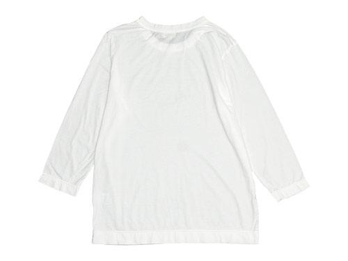 RINEN 100/2天竺 七分袖ラウンドネックTシャツ