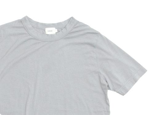 RINEN 100/2天竺 半袖ラウンドネックTシャツ