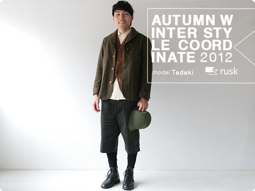 AUTUMN WINTER STYLE COODINATE 2012