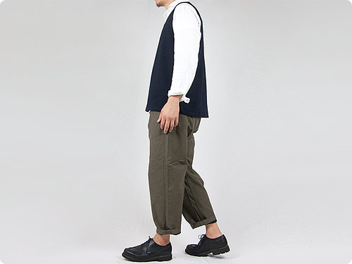 ordinary fits FRENCH CROPPED HEATHER