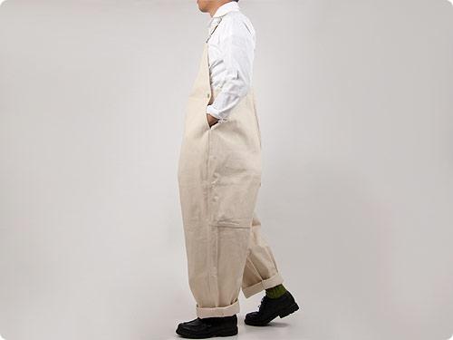 TUKI type2 05ecru / 【再入荷】 Cropped Pants