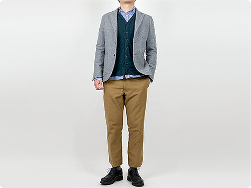 maillot Melton jacket