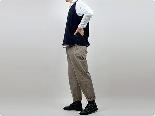 ordinary fits DUCK CROPPED PANTS