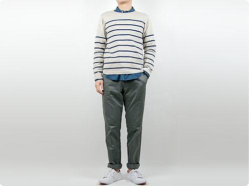 TUKI trousers / military bugs reverse
