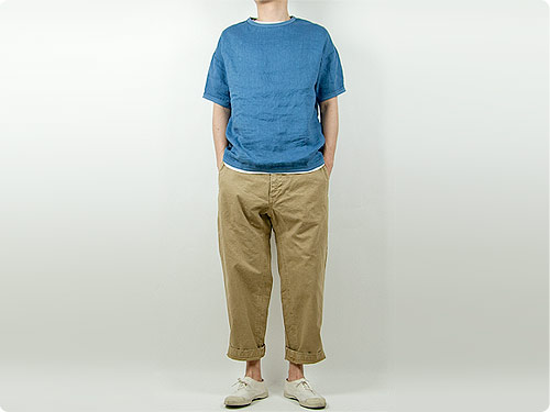 ordinary fits FRENCH CROPPED PANTS / BALL PANTS