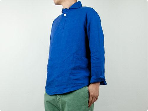 LOLO リネンプルオーバーシャツ / リネンB.D.比翼半袖シャツ