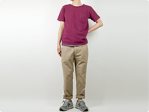 ENDS and MEANS Army Chinos