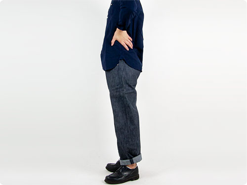 TUKI duck tail pants
