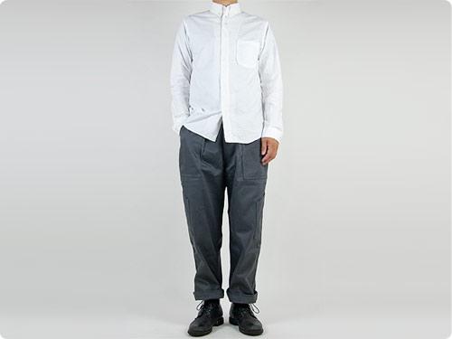 nisica ボタンダウンシャツ 長袖 オックス / デッキマンシャツ 長袖 オックス