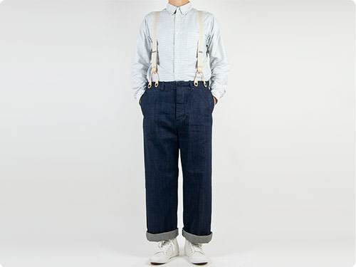TOUJOURS Waist Overalls