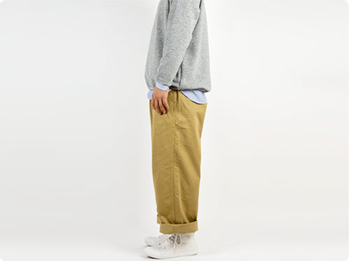 【別注】 ordinary fits Wide Chino Pants