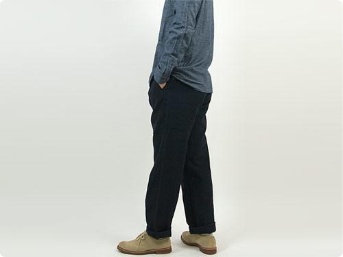 RINEN 2/36ウールサージ パンツ