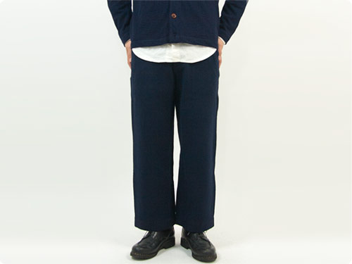 maillot b.label cotton melton wide easy pants