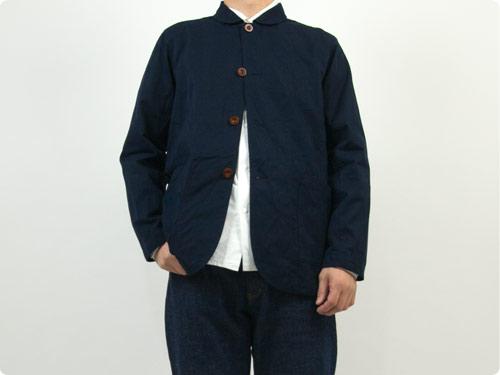 RINEN 80/2綾織 カバーオールジャケット / 100/3ツイル ステンカラーコート
