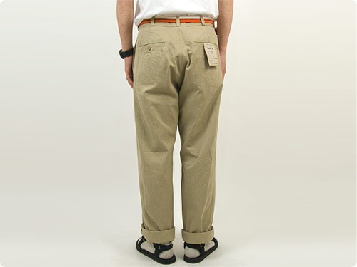 YAECA CHINO CLOTH PANTS WIDE