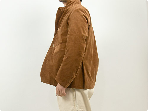 TATAMIZE STAND COLLAR JACKET