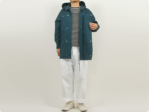 ENDS and MEANS Field Half Coat / Haggerston Parka
