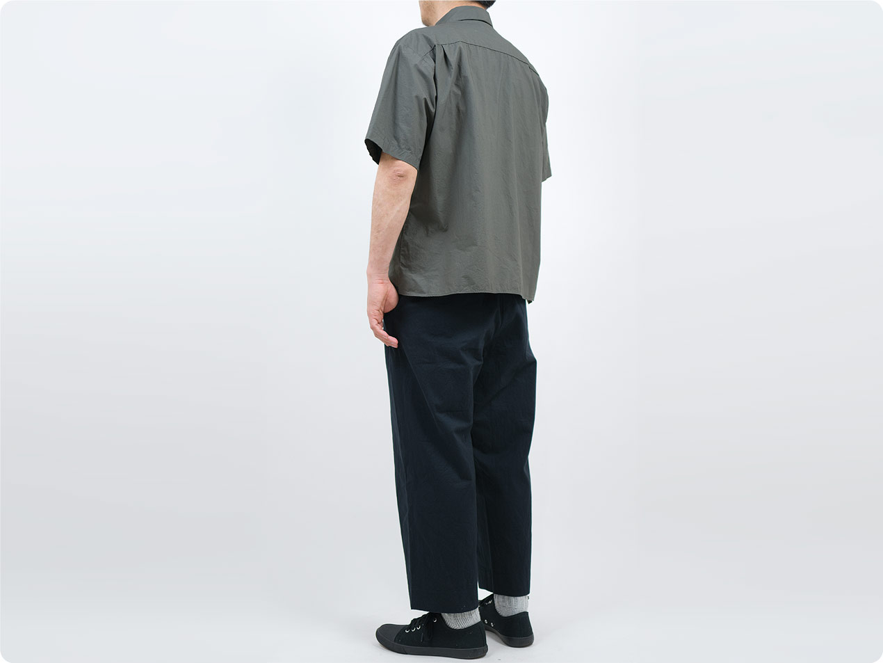 LOLO ステッチなし半袖シャツ