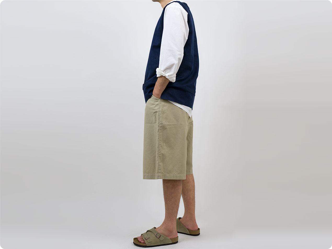 THE HINOKI オックスフォード ショートパンツ