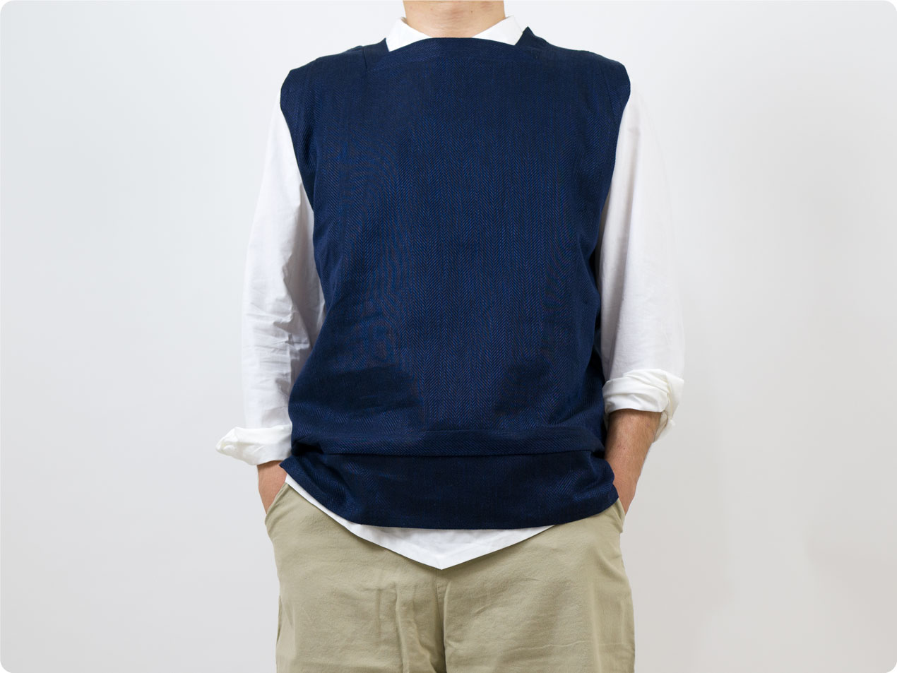 TATAMIZE SQUARE VEST /  P/O WORK SHIRTS