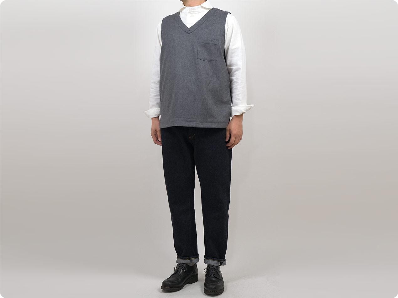 maillot mature wool labo vest