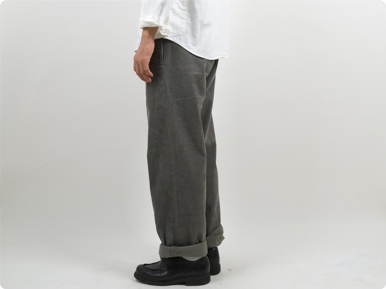 TUKI macaroni trousers corduroy