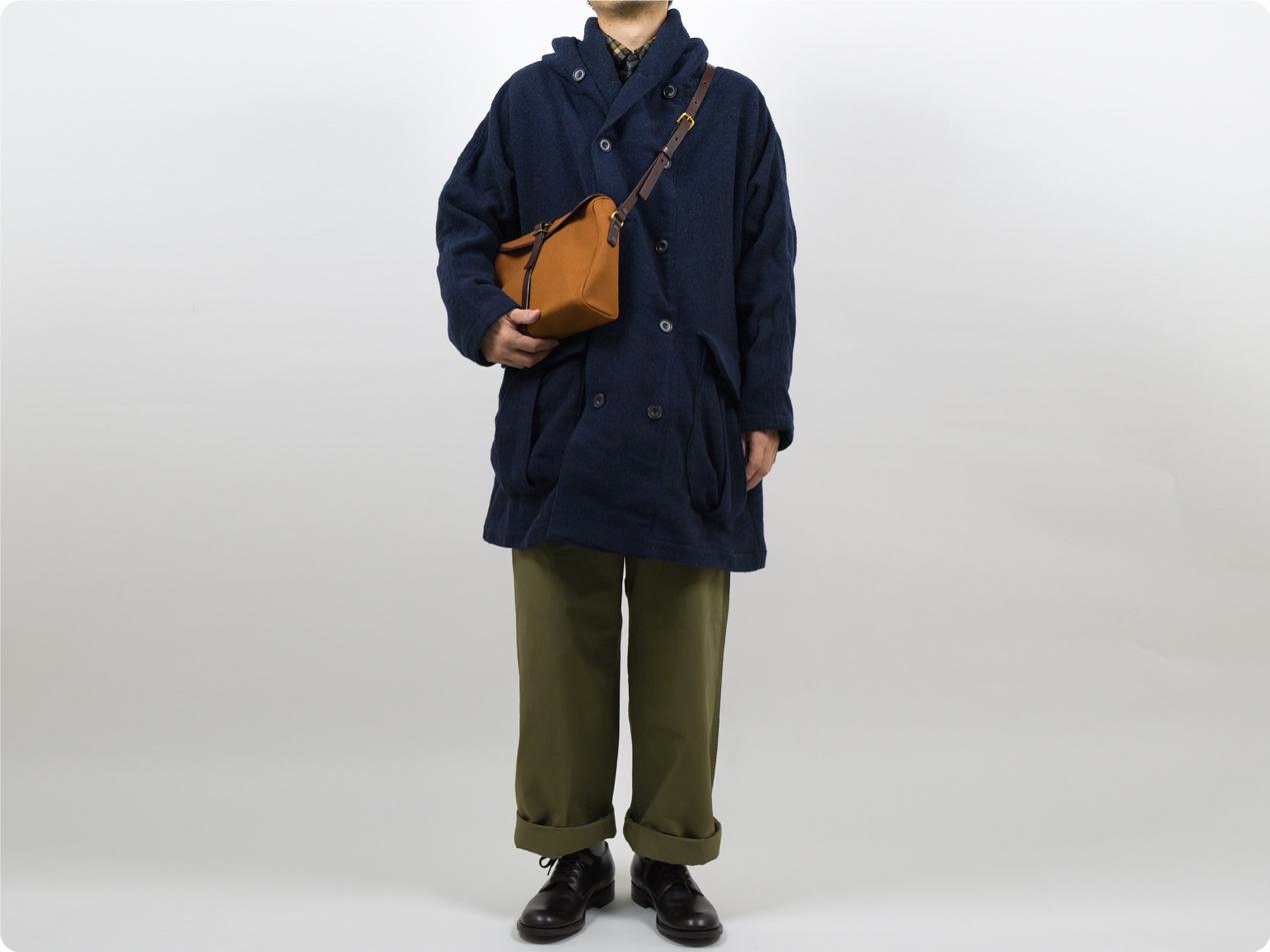 ordinary fits SHAWL PARKA COAT