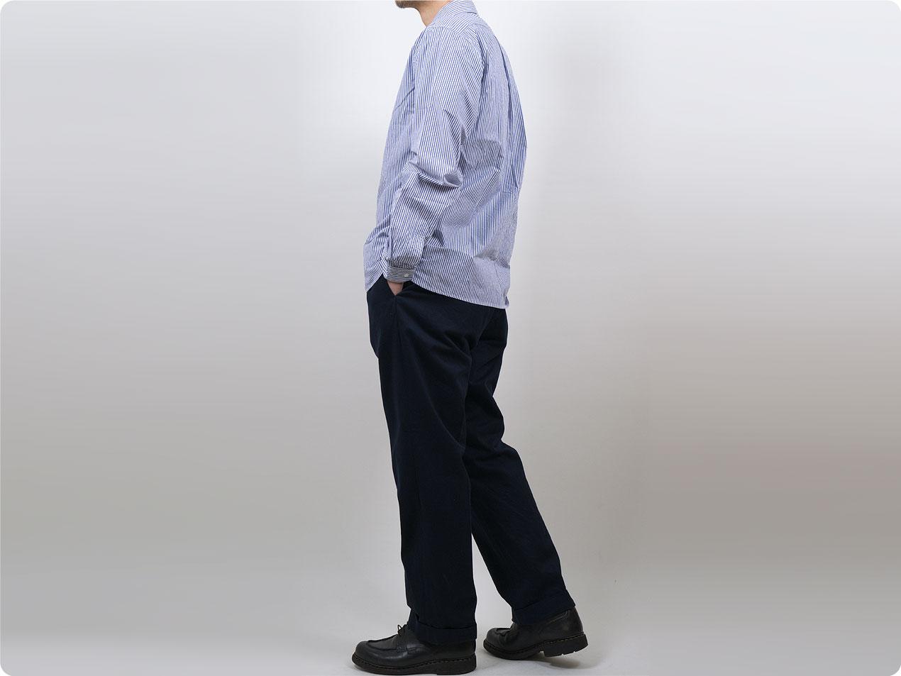 YAECA チノ セットアップパンツ  〔メンズ〕