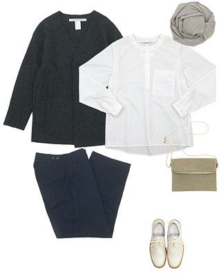 TUKI field trousers(フィールドトラウザー)を使ったコーディネート