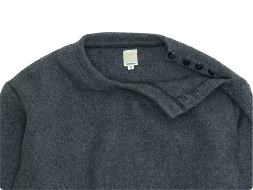 TATAMIZE C/NECK WOOL SHIRT