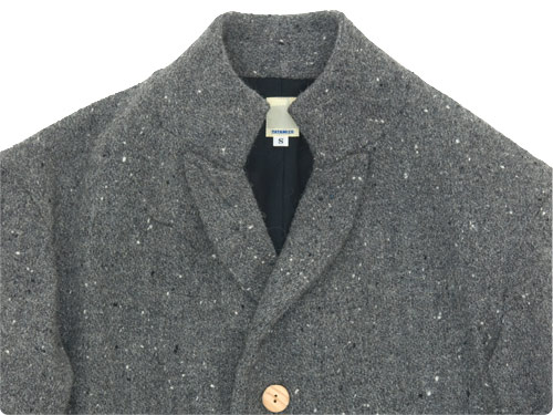 TATAMIZE -SIMME- STAND COLLAR JACKET TWEED