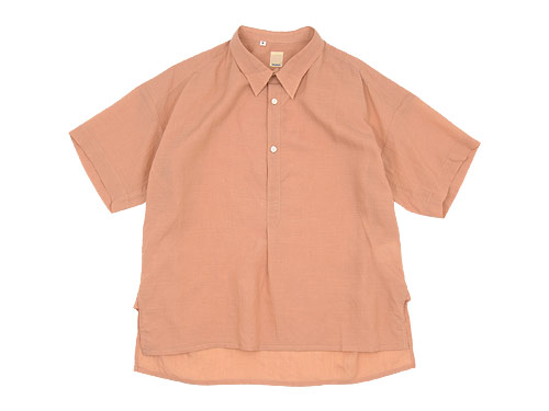 TATAMIZE -SIMME- HALF SLEEVE SHIRTS / -SIMME- STAND P/O SHIRTS RELAX