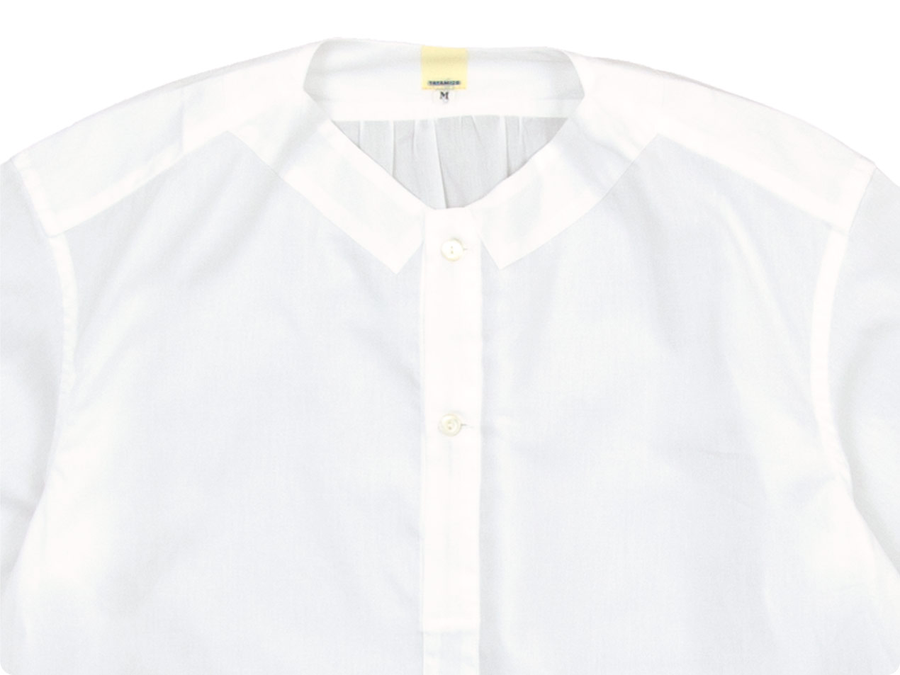 TATAMIZE NO COLLAR SHIRTS