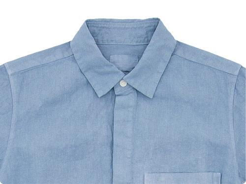 THE HINOKI リネンコットン ポケットワークシャツ