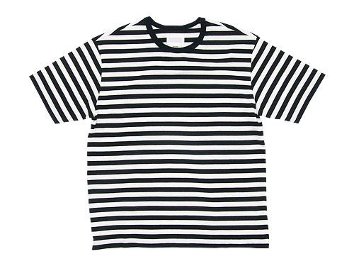 THE HINOKI オーガニックコットン 半袖ボーダーTシャツ