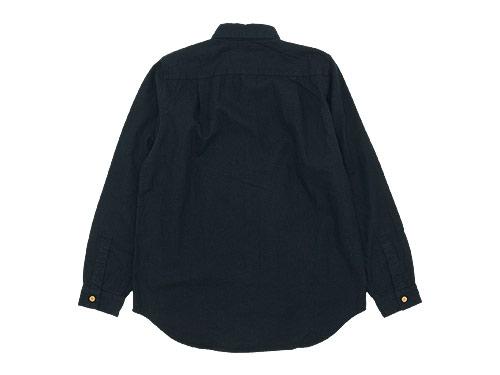 THE HINOKI リネンコットン ウッドボタンワークシャツ
