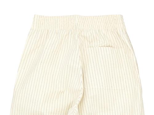 THE HINOKI コットン馬布クロス パジャマパンツ ストライプ