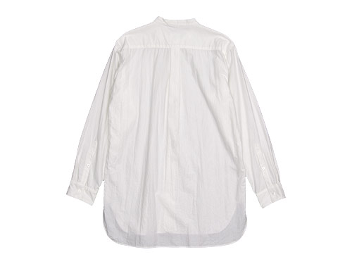 TOUJOURS Band Collar Long Shirt