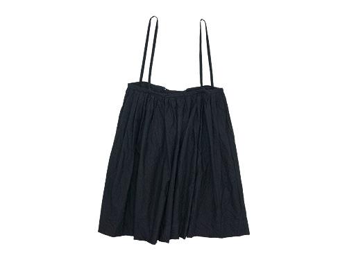 TOUJOURS Drawstring Suspender Skirt / Waist Overalls / Bulky Yarn Cotton Ankle Rib Socks