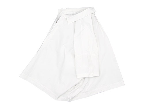 TOUJOURS Open Back Yolk Skipper Shirt / One Shoulder Bag