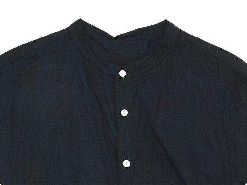 TOUJOURS Oversized Band Collar Shirt