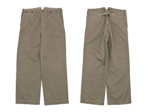 TOUJOURS Waist Overalls / Fine Wool Military Socks